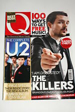Q Magazine March 2007, U2/The Killers/Kaiser Chiefs/Lily Allen/P Diddy