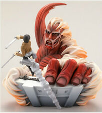 Kaiyodo CAPSULE Q CHARACTERS Attack on Titan Figure Figurine Colossal Titan Eren