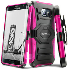 Evocel® Galaxy S7 Edge Case - Rugged Holster with Kickstand & Belt Swivel Clip