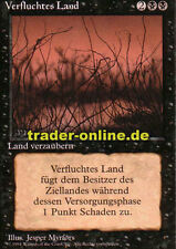 Maldita país (Cursed país) Magic Limited Black bordered German beta fbb fore