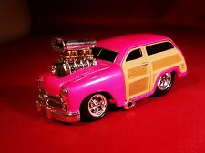 MM WILD BLOWN 1950 FORD WOODY WITH & RUBBER TIRES LIMITED EDITION