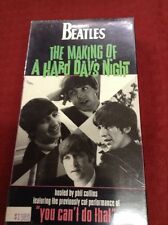 The Beatles - The Making of A Hard Day's Night (VHS, 1995) NEW