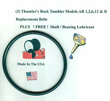 Replacement Belt for Thumler's Tumbler Models AR 1,2,6,12 B (3) &FREE LUBRICANT!