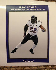 "RAY LEWIS Mini Ad panal Mural 6"" x 4"" Ravens Super Bowl 47 Fathead Wall Graphics"