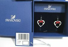 Swarovski Disney Minnie Pierced Earrings, Bow Crystal Authentic MIB 1112908