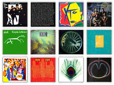XTC COLLECTION OF 12 FRIDGE MAGNET LP COVERS IMANES NEVERA