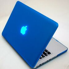 "Blue Rubberized Case Cover for Apple MacBook Pro 13"" 13.3"" (Non-Retina)"