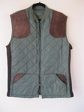 Men's Vintage Belstaff International Quilted Hunting Gilet Bodywarmer. UK Large