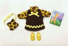 Kelly Doll Clothes Giraffe Print Dress Cute n' Cool Fashions + Purse & Shoes New
