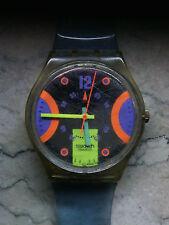 """orologio swatch STANDARD GENT modello """"STREAM""""GK 146 anno 1992 USATO"""