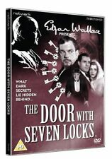 EDGAR WALLACE PRESENTS THE DOOR WITH SEVEN LOCKS. Leslie Banks. New Sealed DVD.