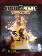 NEW*SEALED PC Game ALIENS VS PREDATOR 2 GOLD EDITION (PC) BIG BOX FACTORY SEALED