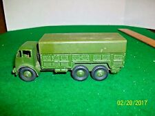 Vintage Meccano Dinky Super Toys 10 Ton Army Truck # 622 made in England
