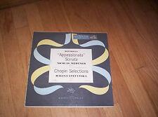 NICOLAS MEDTNER & HALINA STEFANSKA Beethoven Chopin LP LBC-1031 VG Appassionata