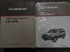 1999 LEXUS LX470 LX 470 Service Repair Shop Manual Set DEALERSHIP BOOKS 99 NEW