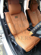 i - TO FIT A NISSAN NP300 NAVARA CAR, SEAT COVERS, YMDX TAN, SB BUCKET SEATS