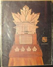 1969-70 Stanley Cup Playoffs Program-Pittsburgh Penquins Oakland Seals West Conf