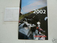 H435 HONDA  BROCHURE 2002 MODELS DUTCH 16 PAGES ENDURO,TRIAL,CUSTOM,NAKED BIKES