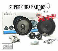 """NEW CLARION SRG1623S 350W 6.5"""" SPLITS COMPONENT CAR AUDIO STEREO SPEAKER SYSTEM"""