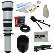 Opteka 650-2600mm HD Telephoto Lens for Canon EOS 700D 1000D 1100D 1200D X50 X70