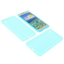 étui pour Cubot X 9 téléphone portable Film De Protection TPU en caoutchouc bleu
