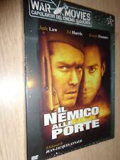 DVD N°3 WAR MOVIES IL NEMICO ALLE PORTE LAW HARRIS FIENNES