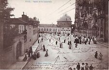 France Toul - Parvis de la Cathedrale old used not mailed postcard