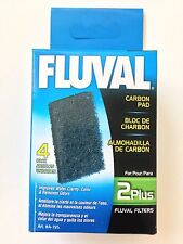 Fluval 2 Plus Filter Carbon Pad Cartridge 4 Pack A-195 All Water Types