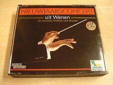 2-CD BOX / NIEUWJAARSCONCERT UIT WENEN - DE MOOISTE WALSEN VAN STRAUSS