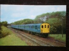 POSTCARD SOUTHERN RAILWAY - DIESEL ELETRIC UNIT NO 1036 NR CROWHURST
