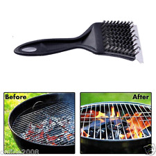 Stainless Steel Grill Steam BBQ Cleaning Cleaner Brush Barbecue Cooking Tool new