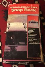 Portable roof rack snap rack  2 Available