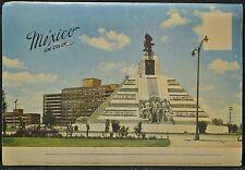 MEXICO EN COLOR SOUVENIR FOLDER - Cathedral de la Ciudad-Comm.&Transportation