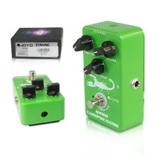 Compact Compressor Sustainer Effektpedal für E-Gitarre Distortion Overdrive fast