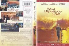 DVD:  WHAT DREAMS MAY COME.....ROBIN WILLIAMS-CUBA GOODING JR.-ANABELLA SCIORRA