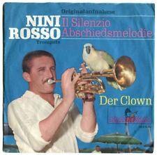 NINI ROSSO Il Silenzio  Abschiedsmelodie / Der Clown - Originalaufnahme 1965