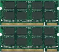 4GB 2X2GB DDR2 SODIMM PC5300 PC2 5300 667 Laptop Memory for Dell Latitude D620