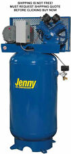 NEW Jenny 80 Gallon Tank 175 Psi Electric Cast Iron Industrial Air Compressor