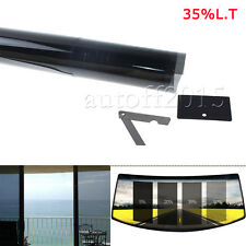 "2PLY 20"" X 10FT 35% VLT Black Car Home Glass Window TINT TINTING Film Vinyl Roll"