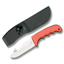 BEAR & SON SKINNER GUTHOOK HUNTER KNIFE FIXED BLADE BLAZE ORANGE USA BOX
