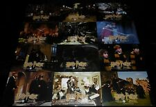 2001 Harry Potter and the Sorcerer's Stone ORIGINAL LOBBY CARD SET J.K. Rowling