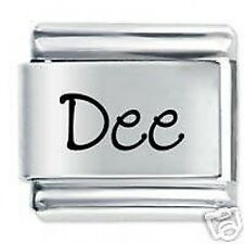 DEE Name - Daisy Charm by JSC Fits Classic Size Italian Charms Bracelet
