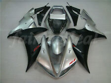 Black Silver ABS Injection Molded Fairing Fit for Yamaha 2002 2003 YZF R1 d28