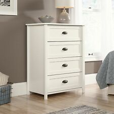 4-Drawer Chest - Soft White - County Line Collection (416976)