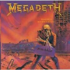 "MEGADETH ""PEACE SELLS BUT WHO'S BYING"" CD NEUWARE !!!"