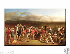 Vintage Golf Painting/Poster/The Golfers/1847 /by Charles Lees/Reproduction