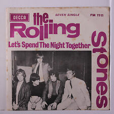 ROLLING STONES: Ruby Tuesday / Let's Spend The Night Together  45 (South Africa