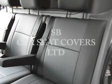 RENAULT TRAFIC CREW CAB 2015 SPORTS 6- SEATER -  PVC BLACK LEATHERETTE