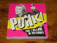 PUNK ROCK PUNKS PHOTO BOOK SEX PISTOLS CLASH STRANGLERS SLF SKIDS SIOUXSIE