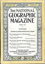 National Geographic June 1923